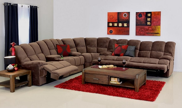 Commando Corner Recliner Suite