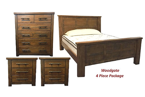 Woodgate 4PC Queen Tallboy Package