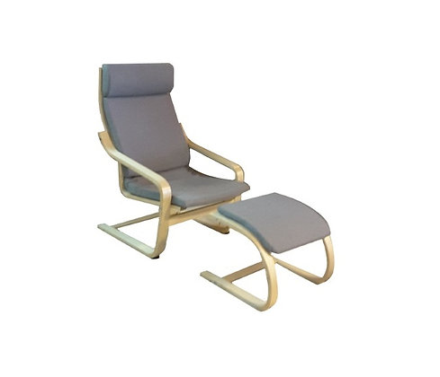 Brentwood Relax Chair + Foot Stool