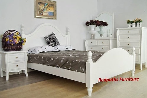 PROVENCE - 6PC White Bedroom Suite
