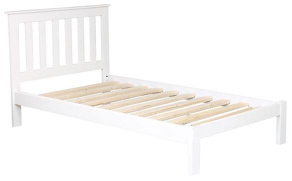 Tina Single Bed - White