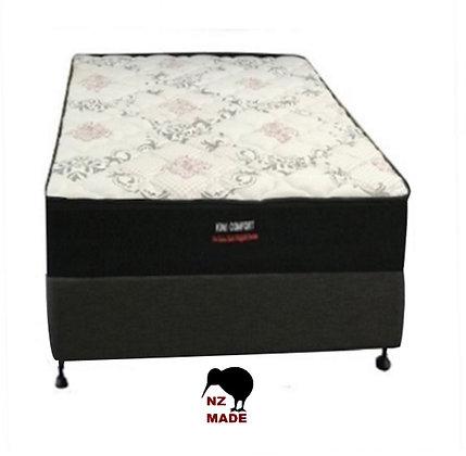 Kiwi Comfort King Single Mattress & Bed Base