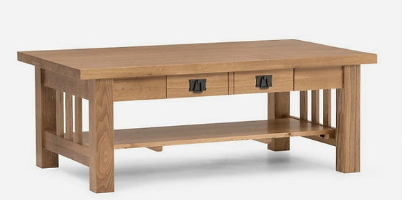 Sherwood Coffee Table Solid Oak - Natural