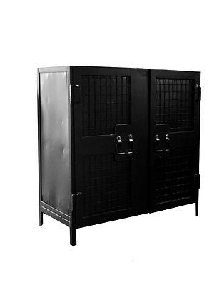 Detroit Industrial  2 Door Buffet/Storage Unit