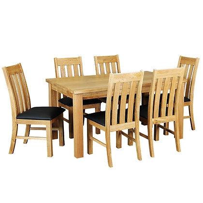 Sherwood 7 Piece Dining Suite - 1800mm