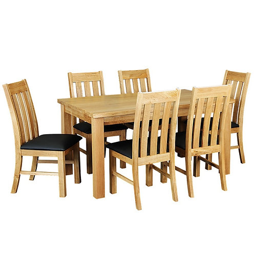 Sherwood 7 Piece Dining Suite - 1500mm