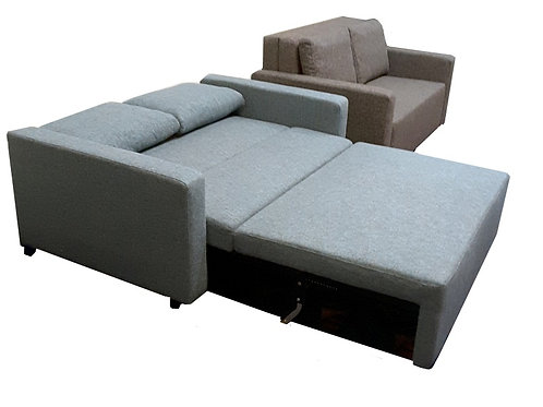 Luxury 2 Seater + Sofa Bed