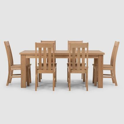 Sherwood 7 Piece Dining Suite - 1500mm