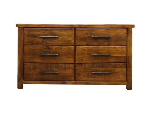Woodgate Lowboy 6 Drawer