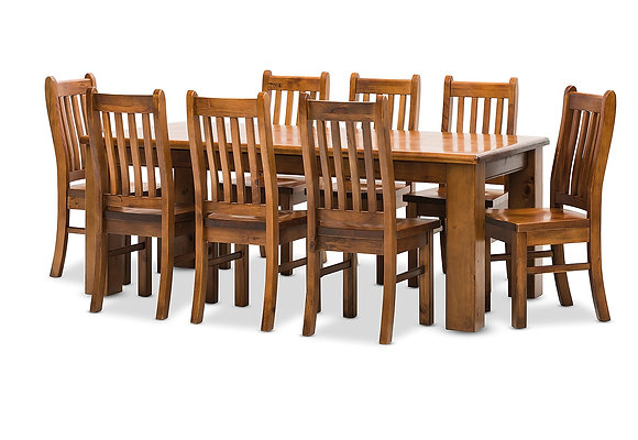 Settler 9 Piece Dining Suite