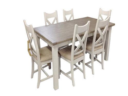 Armadale 7 Piece Dining Suite - Extension