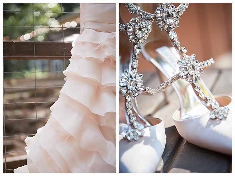 A Blush Wedding at Sequoia Retreat Center