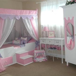 Exceptional Glitz U0026 Glam Princess Canopy Bedding ...