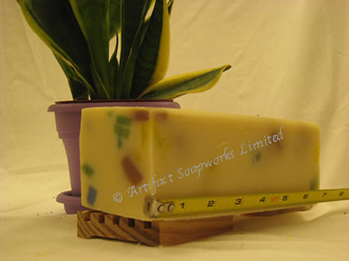 Lemon Confetti Soap Loaf