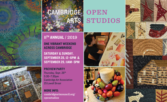 Join me for 2019 Cambridge Open Studios