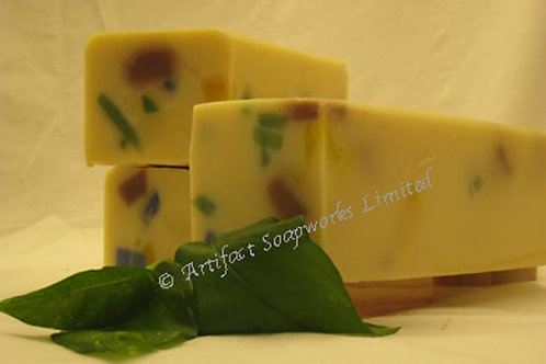 Pineapple Confetti Soap Loaf