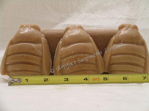 Honey Oatmeal Bumblebee Soap (One bar)