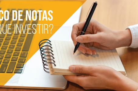 Bloco de notas – Por que investir?