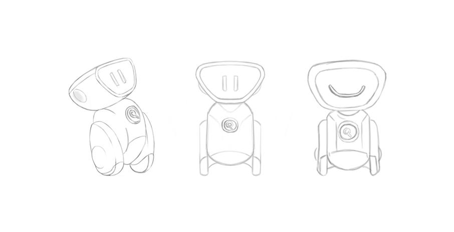 Criação de personagem para empresa de cursos EAD