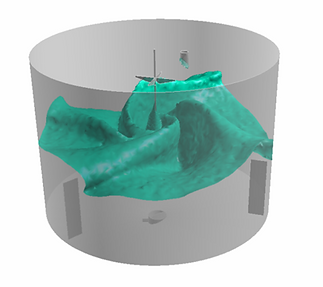 Anaerobic Digester, CFD model