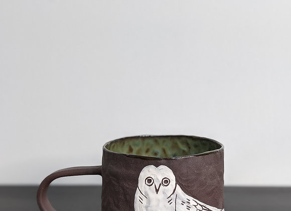 White Owl Mug