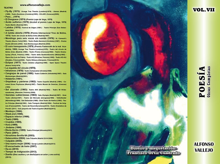 Contraportada Vol II Poesía
