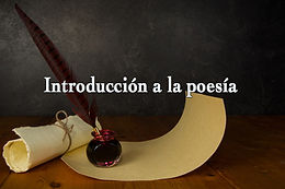 Introducción a la poesía