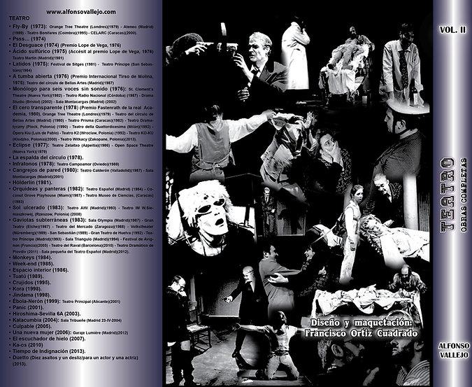 Contraportada Volumen II Teatro