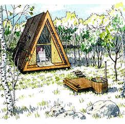 Les cabanes d'Échassières