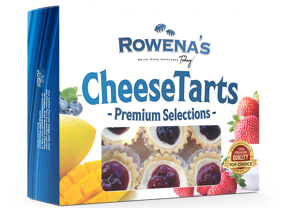 Assorted Cheese Tart (Premium Collections) *6 pcs. in a box (Store Pick up)