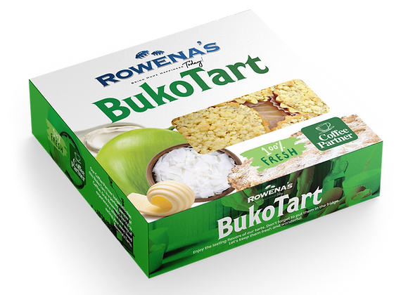Buko Tart ( 9 pieces in a box )
