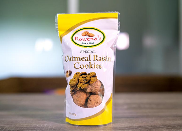 Special Oatmeal Raisin Cookies Pouch *230 Grams in a pouch