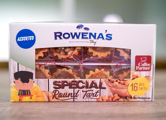 Special Round Tart Assorted Box *16 pcs. in a box