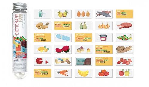 MICRO FOOD DICTIONARY Mini Flashcards