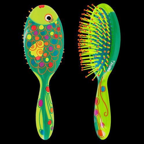Pylones Ladypop Small Hairbrush - Fish