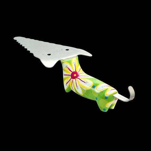 Pylones Filou Pie Server - Green Flower