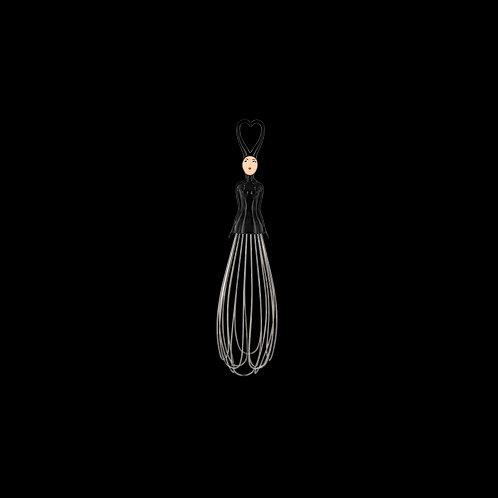 Pylones Mélusine Kitchen Whisk - Black