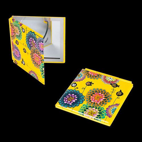 Pylones Mimi Pocket Mirror - Dahlia