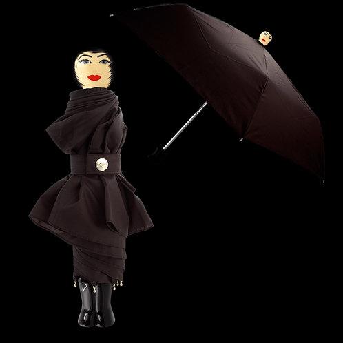 Pylones Rain Parade Compact Umbrella - Black