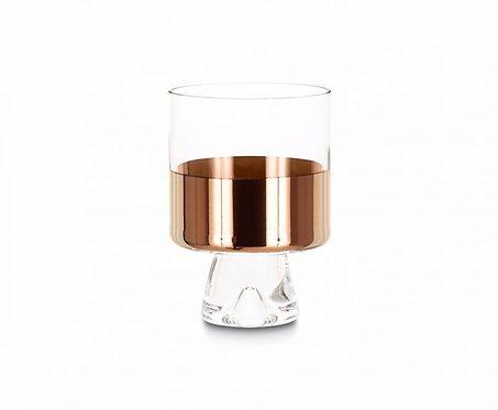 TANK LOW BALL GLASSES COPPER X2