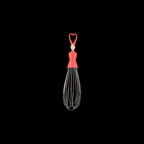 Pylones Mélusine Kitchen Whisk - Pink