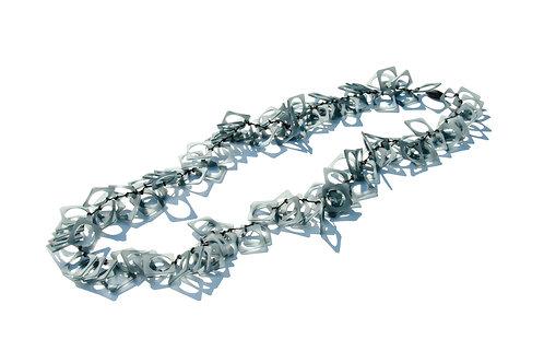 Cornici Long Rubber Necklace