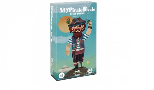 MY PIRATE Reversible, Educational Jigsaw Puzzle