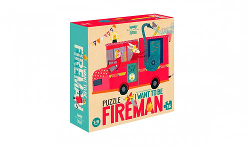 I WANT TO BE... FIREMAN Jigsaw Puzzle