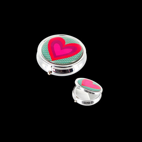 Pylones Mes Doc' Pill Box- Heart