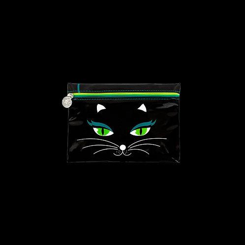 Pylones Akademic Cosmetic Bag - Black Cat