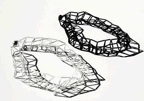 Geometria Vetro Long Necklace