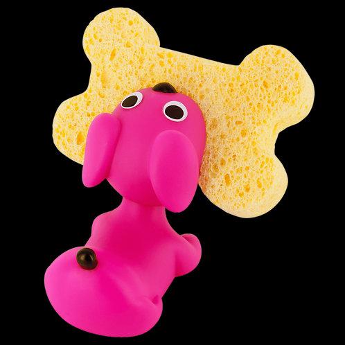 Pylones Clean Sponge holder -Pink