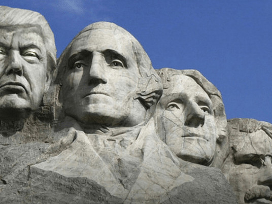 Trump to be added to Mount Rushmore