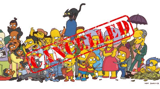 PC kills Simpsons series